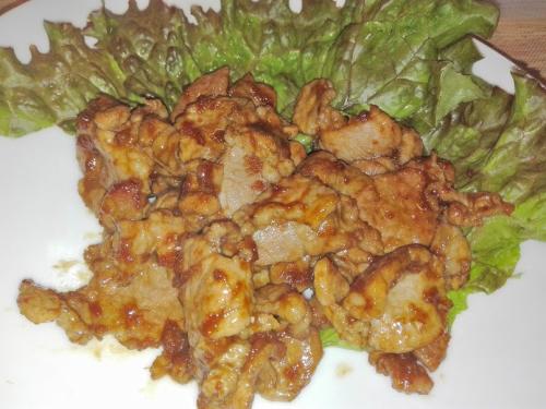 グースの豚の生姜焼き