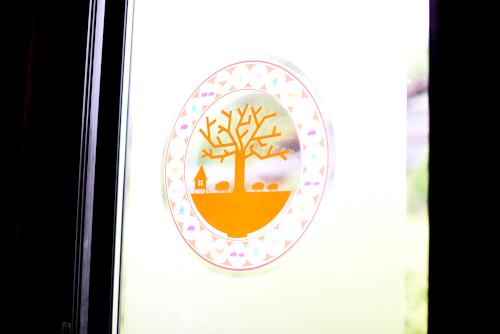 ラーメン杏樹のおしゃれなロゴ