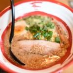 飯田市のおすすめラーメン屋麺屋杏樹のお洒落な無化学調味料豚骨らーめん