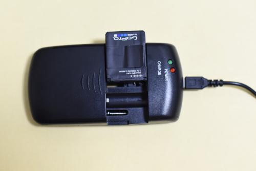 GoProのバッテリーを充電