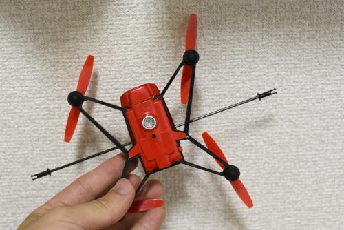 Parrot MiniDrone Rolling Spiderのカメラ