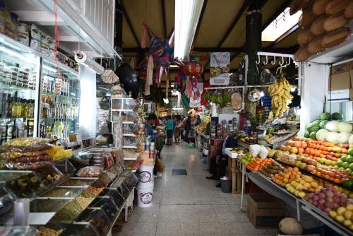 メキシコシティの市場