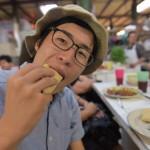 蟻の卵食べたことある?メキシコの珍味アリの卵エスカモーレを市場で食べてみた