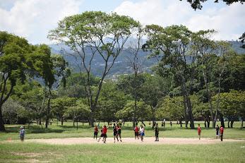 カラカスの公園
