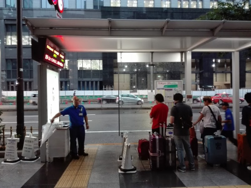 成田空港東京シャトルバス