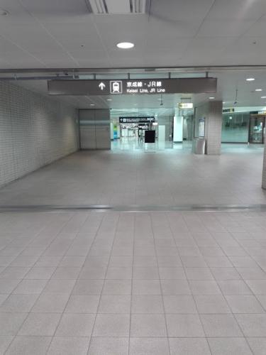 成田空港を移動