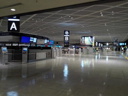 第一ターミナル出発ロビー