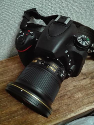 D750と20mm単焦点レンズ