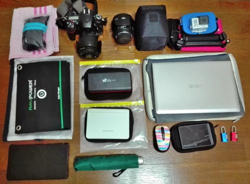 世界一周バックパッカー用おすすめ持ち物リスト!海外旅行で42カ国を旅したサブバッグと荷物のパッキング方法
