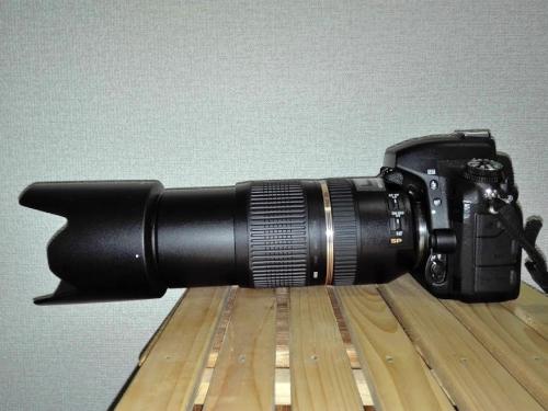 タムロン望遠レンズ70-300mm
