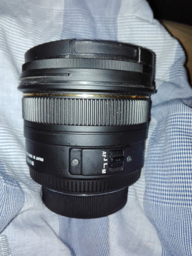 50mm単焦点レンズ