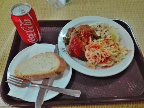 ベネズエラの昼食
