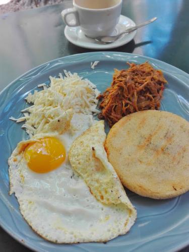 ベネズエラの朝食