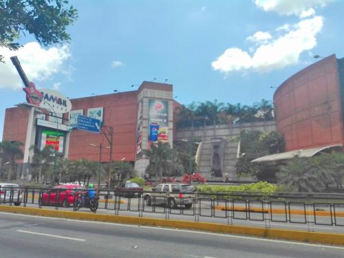 首都カラカスのショッピングモール