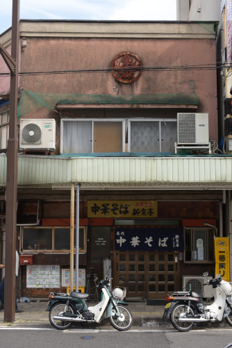 飯田駅前の新京亭