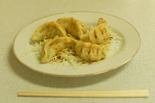 新京亭の餃子