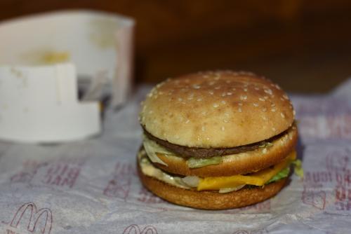 ベネズエラのマクドナルドで買ったビッグマック