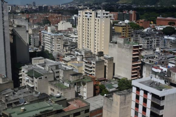 カラカスのビル街