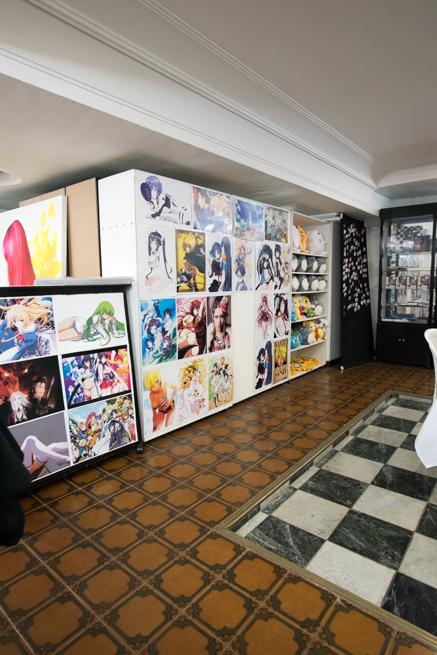 メデジンのメイドカフェの内装