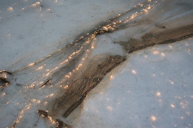 汚染されたウユニ塩湖