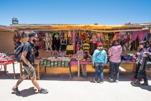 コルチャニ村のお土産店