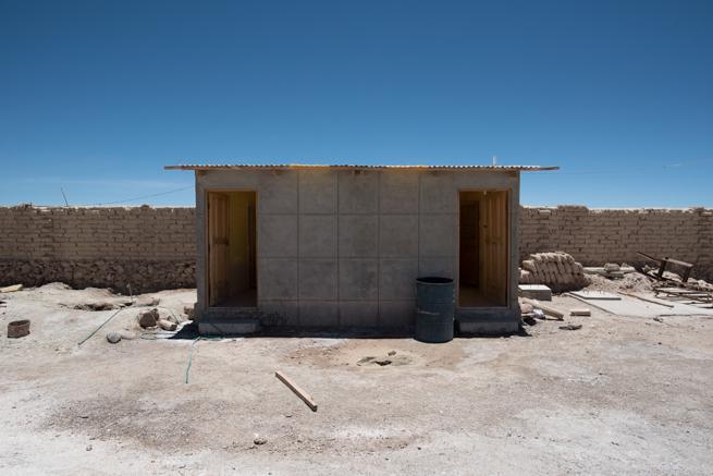 コルチャニ村のトイレ小屋