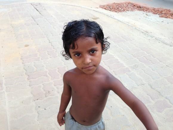 ネパールの子供
