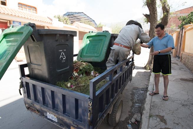 ティキパヤ市のゴミ処理方法