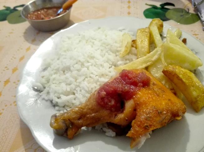鶏肉ソテー