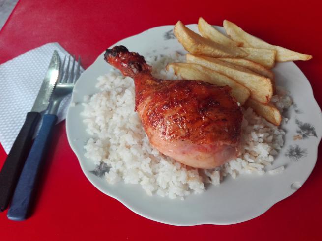 鶏焼きランチ