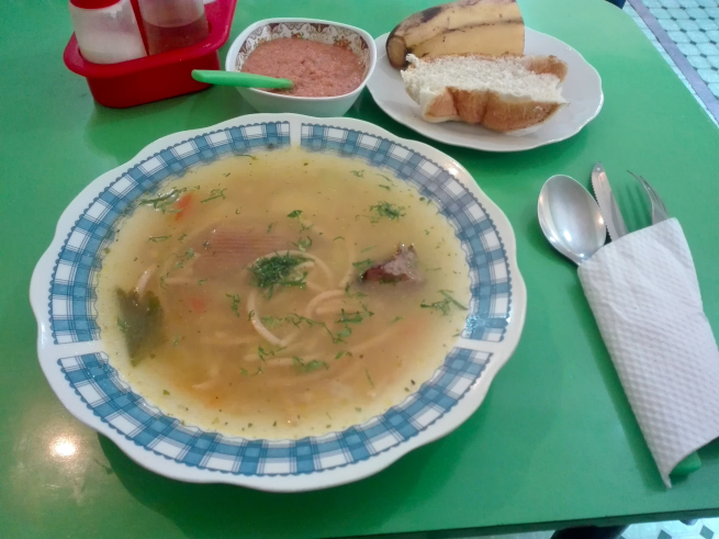 スープのランチ