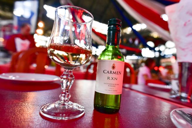 サンチアゴの白ワイン