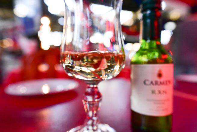 サンチアゴで飲んだチリワイン