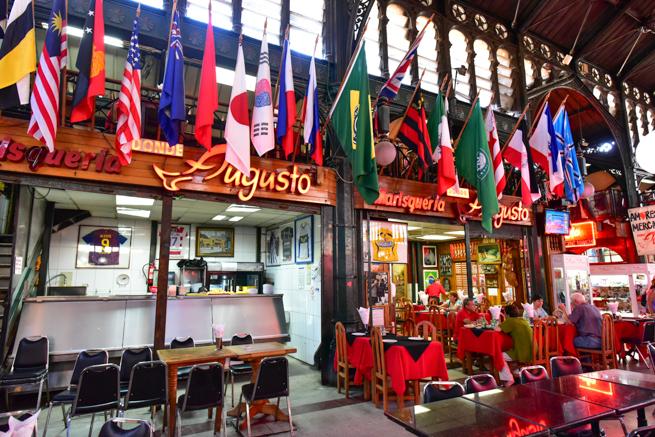 サンチアゴのドン・アウグストの店