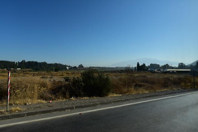 サンチアゴ近郊