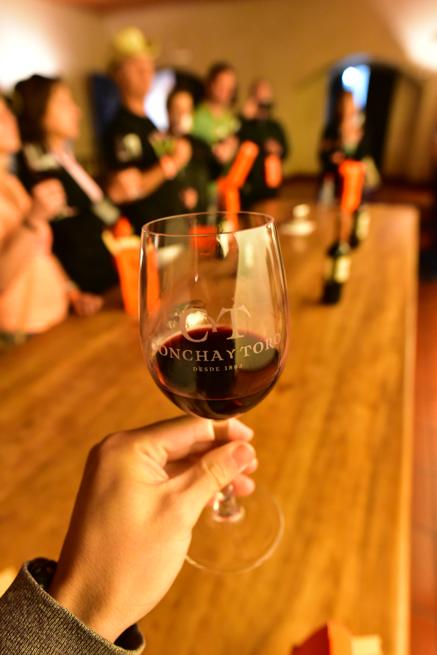 ワインの香りを楽しむ