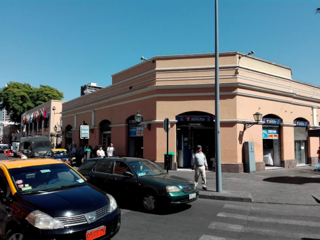 チリ・サンチアゴの中央市場