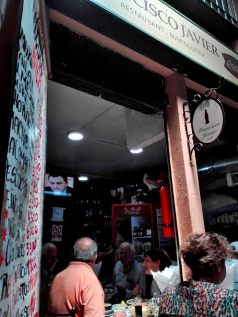 中央市場の海鮮食堂