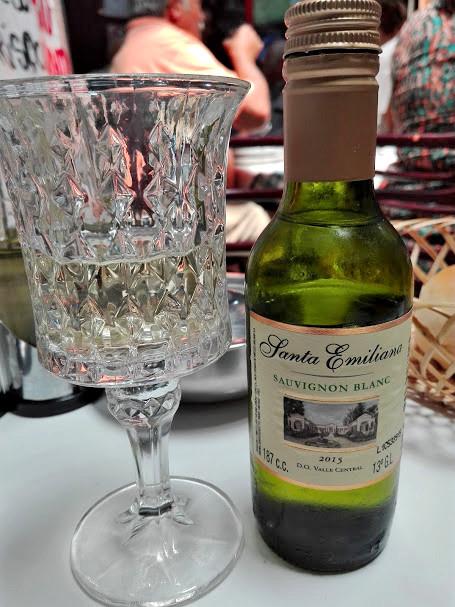 チリ産の白ワイン