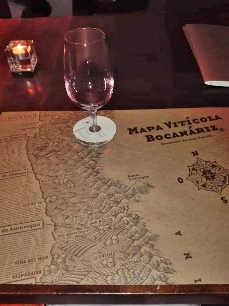 チリのサンチアゴのワインバー