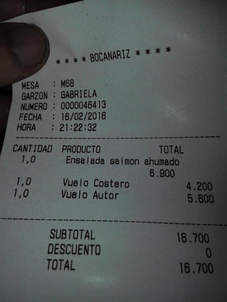 ワインバーの会計