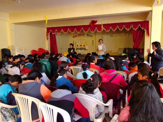 青年海外協力隊OBの環境教育ワークショップ
