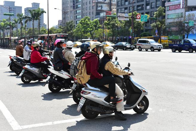 台湾・台北のバイク