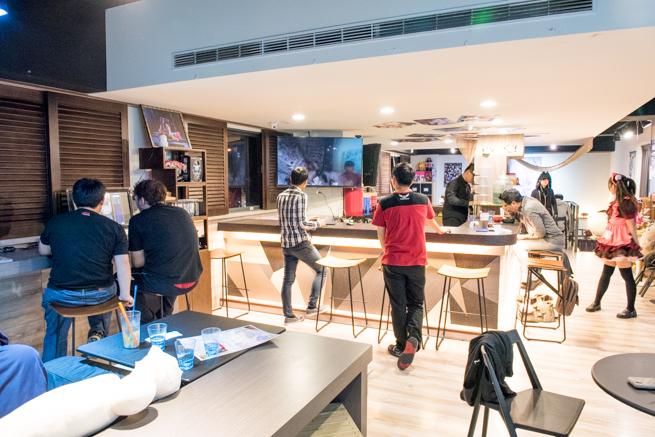 台湾のメイドカフェの様子