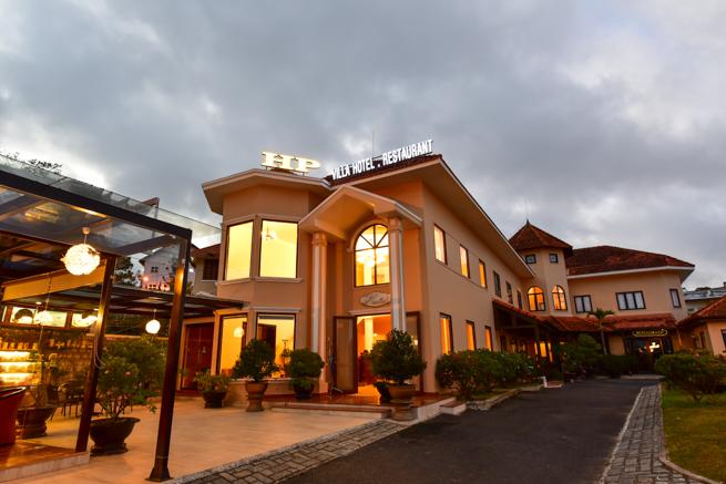 ベトナムのダラット高原のHP ヴィラ ホテル (HP Villa Hotel)