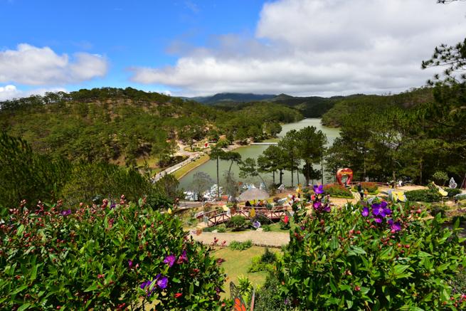 ダラットの愛の谷の池