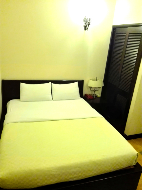 HPヴィラホテル(HP Villa Hotel)のベッド