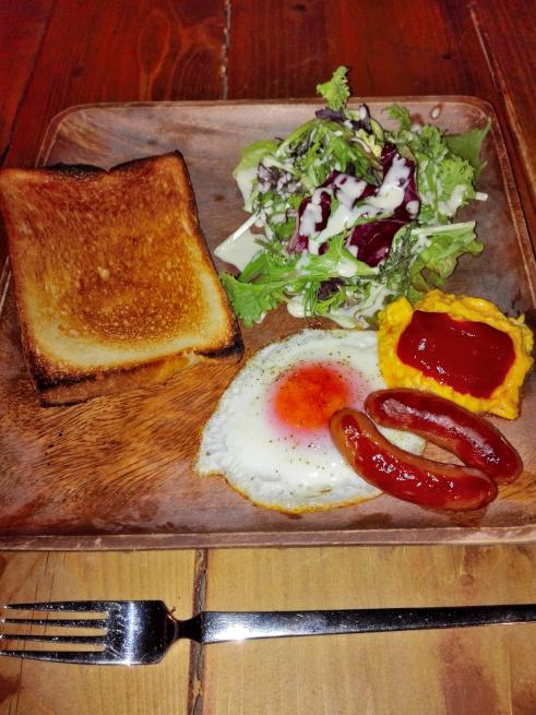 ゲストハウスLAMPの朝食