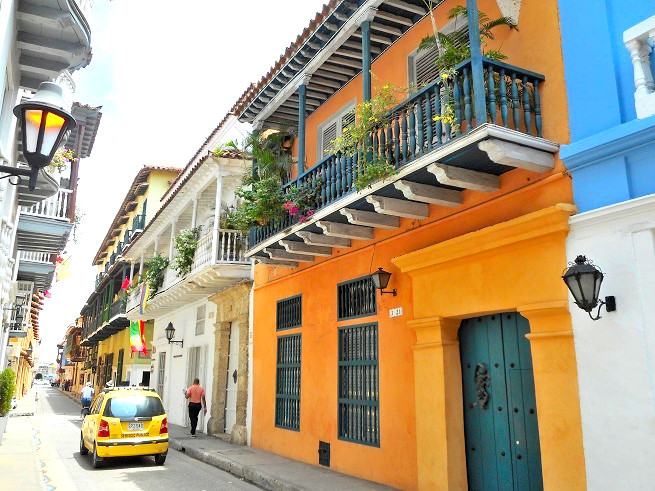 コロンビアのカルタヘナ
