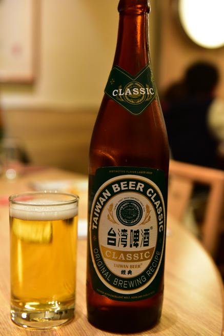鼎泰豊の台湾ビール